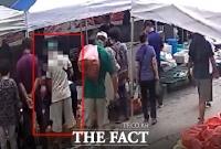 5일장서 여성 상대 60대 소매치기범 덜미(영상)