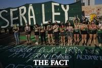 '안전하고 합법적인 낙태 요구'...시위 나선 중남미 여성들 [TF사진관]