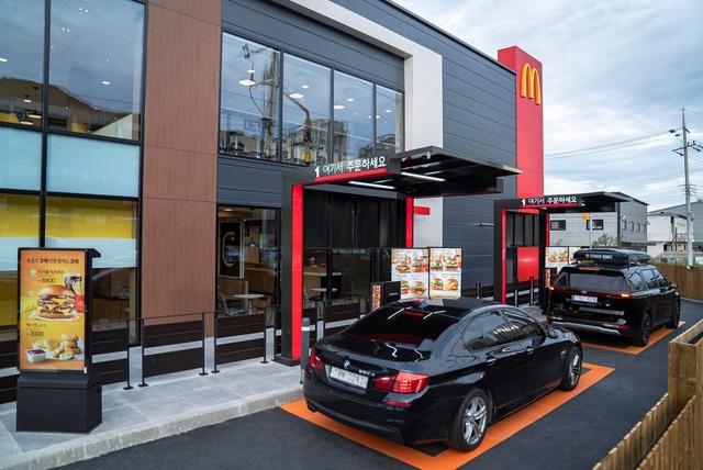 맥도날드, 국내 최초 탠덤 DT 도입 '경기광주DT점' 오픈