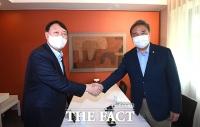 박진, 윤석열 지지 선언...