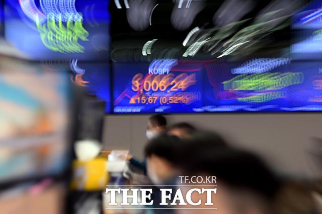 [시황] 6개월 만에 무너진 코스피 '3000선'…1.89%