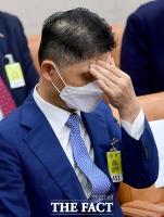 국감 출석이 피곤한 김범수 카카오 의장 [TF사진관]