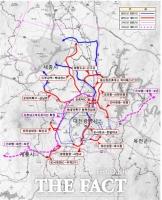 대전시, 15개 구간 204㎞ 도로망 확충