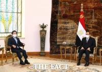 박병석 의장, 이집트 정상 만나 방산·원전 등 '경제 외교'