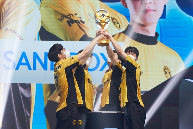 샌드박스, '2021 카트라이더 리그 시즌2'서 두 시즌 연속 정상