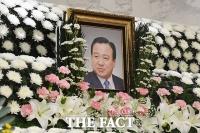 성모병원에 마련된 '포스트JP' 이완구 전 총리 빈소 [TF사진관]