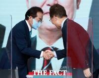 최재형, 홍준표 손 잡았다