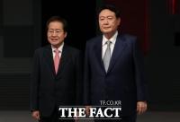 '우군을 확보하라'…윤석열·홍준표 '세 불리기' 경쟁