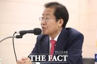 홍준표·유승민·윤석열 부산서 당심 호소…도덕성 흠결 후보 비판도