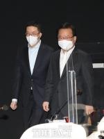 김부겸 총리 LG 방문... '구광모 회장, 청년 일자리 3만 9000명 약속 [TF사진관]