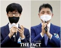 이해진·김범수, 넷플릭스 '망 무임승차는 역차별' 한 목소리 [TF사진관]