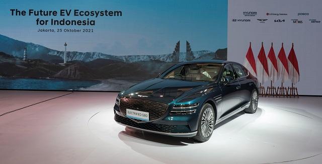 제네시스 G80 전동화 모델, 'G20 발리 정상회의' VIP 차량 선..
