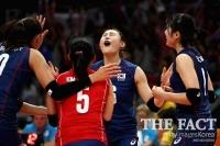 [2017 그랑프리세계여자배구대회] 한국, 독일에 대역전승! 폴란드와 결승전