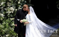 英 해리 왕자, 배우 메건 마클과 '성대한 결혼'