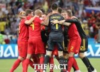 [벨기에 잉글랜드] '5번 터치' 뫼니에 선제골, 벨기에 1-0 잉글랜드(전반종료)
