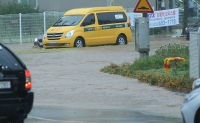 [TF사진관] 시간당 93mm 역대급 폭우...강릉 하늘에 뚫린 구멍