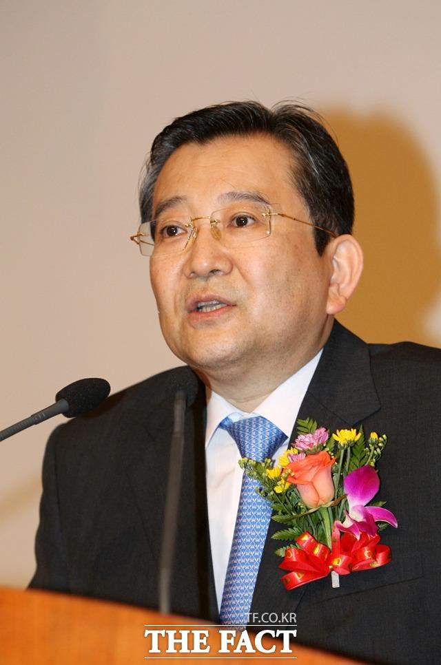 김학의 전 법무부 차관은 2013년 박근혜 정부 당시 신임 법무부 차관으로 임명됐으나 성 접대 의혹이 불거져 같은해 3월 21일 청와대에 사표를 제출하고 낙마했다. 사진은 2013년 무렵 김 전 차관의 모습. /뉴시스