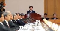 김명수 대법원장 '사법부 외부의 법관 평가 고민하겠다'