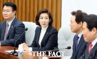 [TF초점] '임기 종료' 나경원 원내대표 1년…'제 점수는요~'
