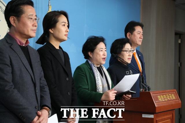 바른미래당 이태규·김수민·신용현·김삼화·이동섭 의원(왼쪽부터) 등 안철수계 의원들은 지난 22일 안철수 전 대표의 당 복귀를 위한 후속조치를 요청했지만 손학규 당 대표는 공식 입장을 내지 않았다. /뉴시스