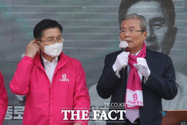 김 위원장은 이날 정부의 코로나19 대응을 비판하면서 대통령 긴급재정명령을 촉구했다. /뉴시스