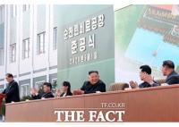 김정은, 공개석상 등장…1일 순천인비료공장 준공식