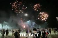미국 독립 기념을 왜 해운대서?…'폭죽 난동' 미군 검거