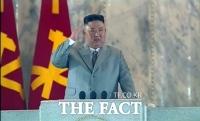 北 김정은 열병식서