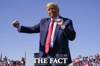 [TF사진관] 2주 앞으로 다가온 미 대선, 격차 줄이기 위한 '트럼프의 광폭 행보'