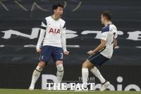 '맨유 킬러' 손흥민 리그 14호골 '폭발', EPL 최다골 '타이'