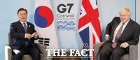 문 대통령, 영국 총리와 정상회담…'백신·경제' 협력 확대