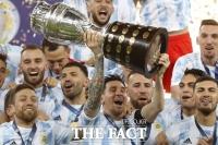메시 '무관' 설움 풀었다…아르헨티나, 28년 만에 코파 정상