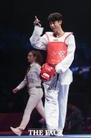 태권도 장준 '동메달' 획득…세계 랭킹 1위 '자존심'