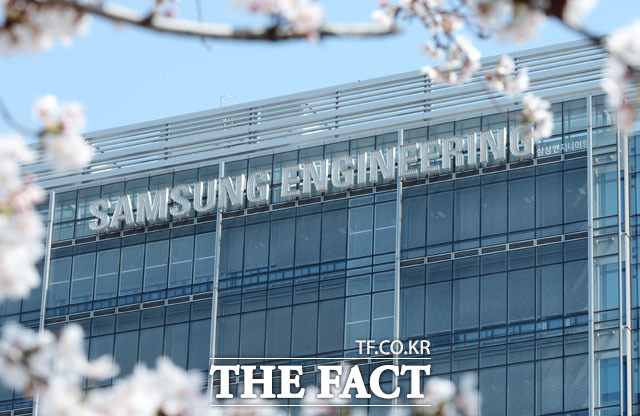 삼성엔지니어링이 2분기 영업이익 1503억 원을 기록, 실적 성장세를 기록했다. /뉴시스
