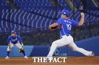 한국 야구, 홈런 2방 내주고 미국에 패배…B조 2위
