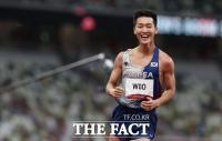 남자 높이뛰기서 '공동금메달' 나와…韓 우상혁 '빛나는 4위'