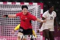 여자 핸드볼, 종료 10초 남기고 앙골라와 극적 무승부