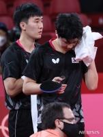 도쿄올림픽 남자탁구 한일전 패배, 노메달로 마무리
