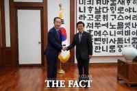 균형위, 박병석 의장 만나 '국회 세종의사당' 관련 국회법 개정 요청