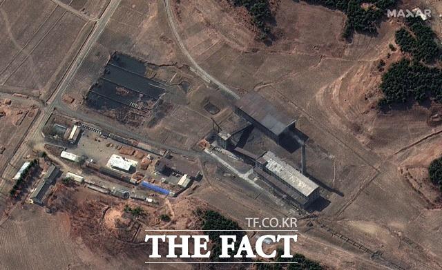 지난 3월 2일 맥사 테크놀로지가 제공한 북한 평안북도 영변 핵 시설 단지 위성사진. /AP.뉴시스