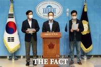 호남 경선 앞두고 '친문'  홍영표·김종민·신동근, 이낙연 지지선언