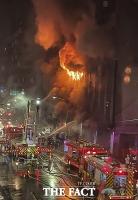 대만 13층 주상복합건물 화재…46명 사망·41명 부상 [TF사진관]