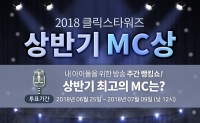 '클릭스타워즈' 2018 상반기 MC상 투표! '최고 MC돌은 누구?'