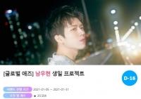 '2월 생일' 인피니트 남우현 위한 깜짝 이벤트 시작